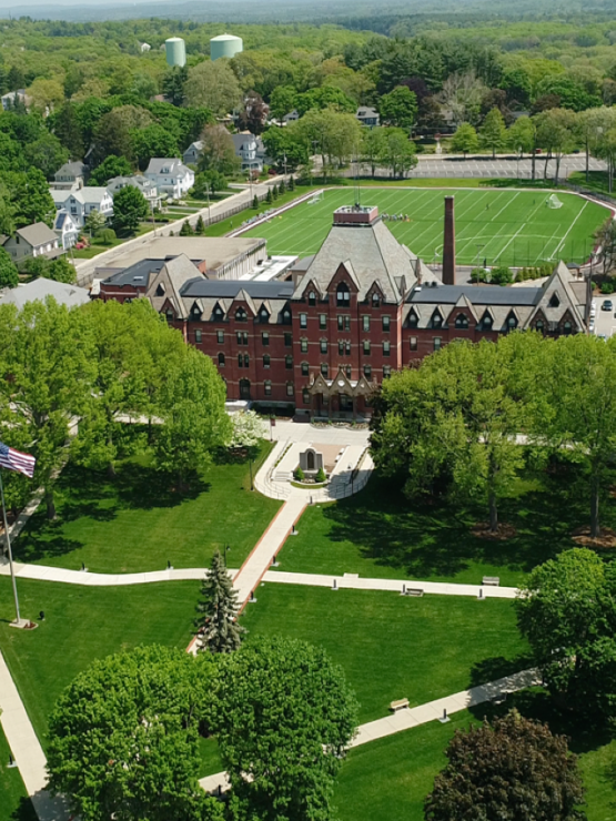 Arial video of the campus.